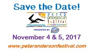 Peter Anderson Festival Poster